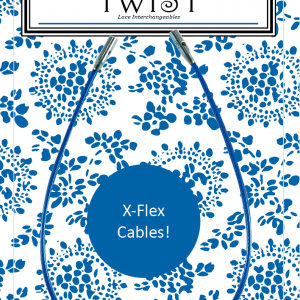 Twist Blue X-Flex Lace: cable intercambiable